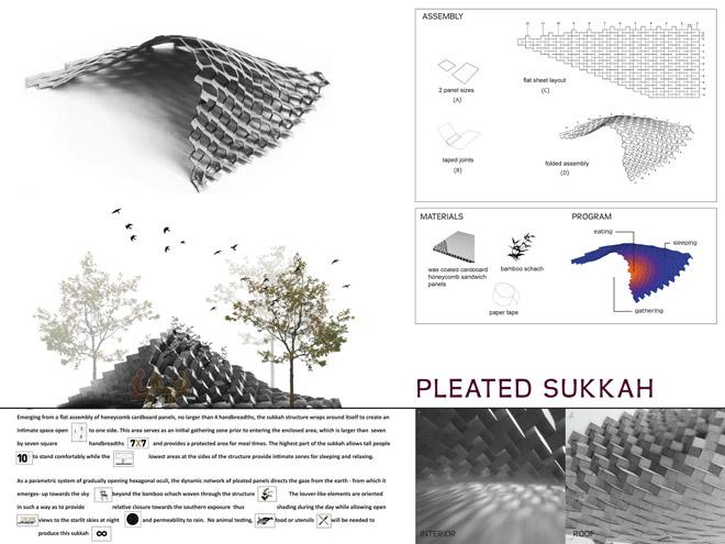 Pleated Sukkah