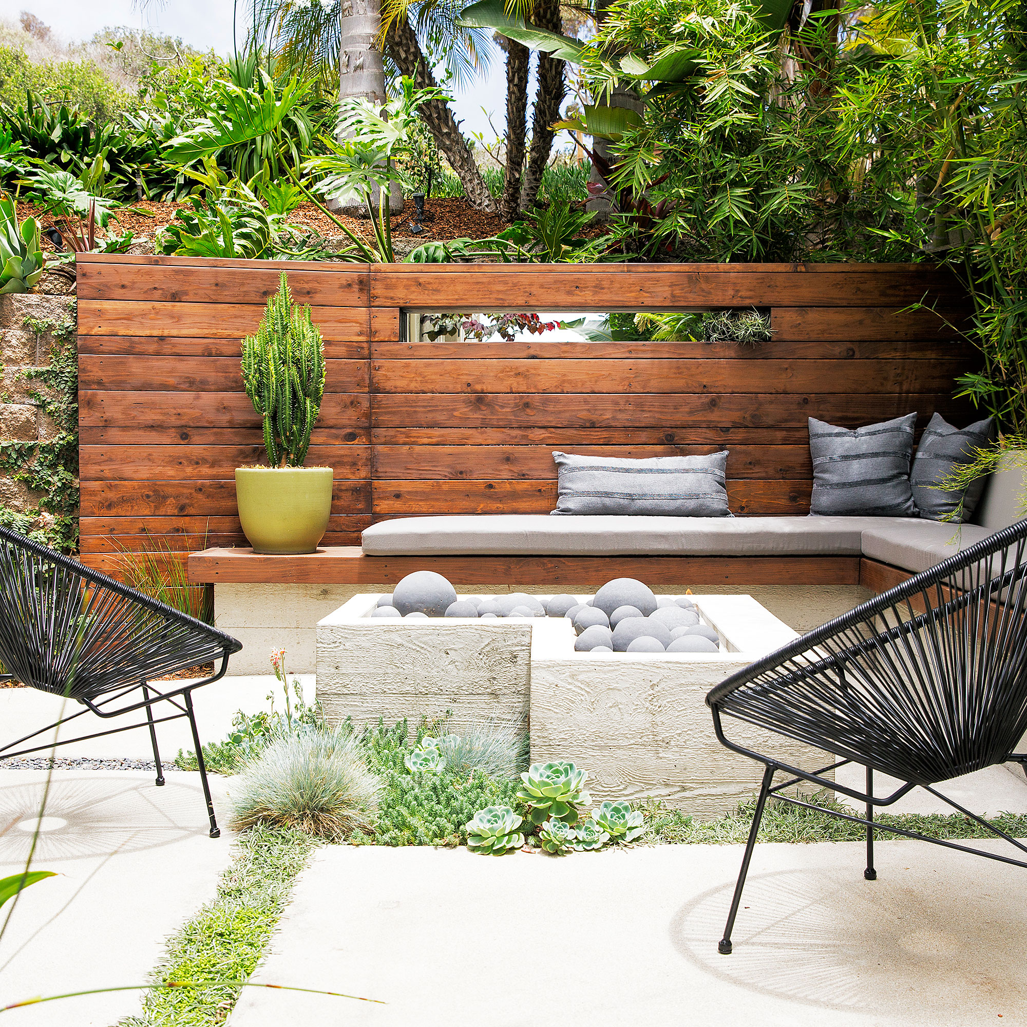 Create A Sunken Patio