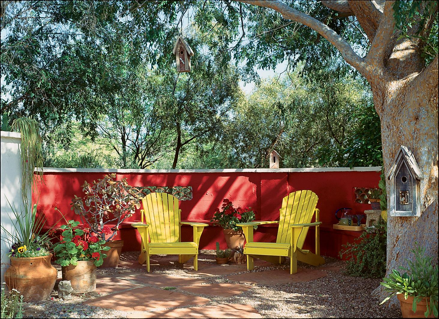 Red Hot Patio Sunset Magazine