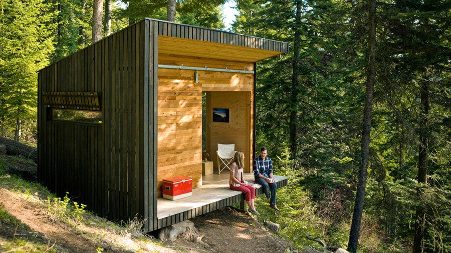 DIY Cabin In The Woods Sunset Magazine Sunset Magazine