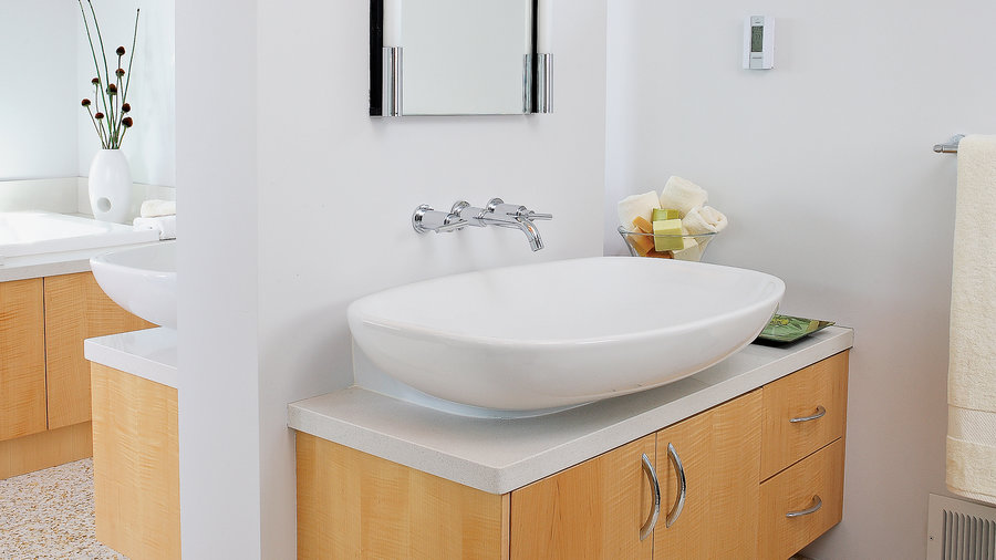 bathroom vanity counter sink ideas