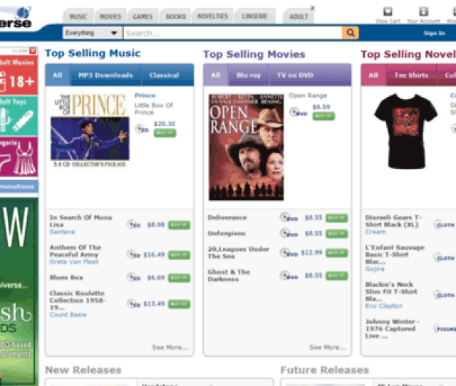 Cd Universe Your Online Music And Movie Store