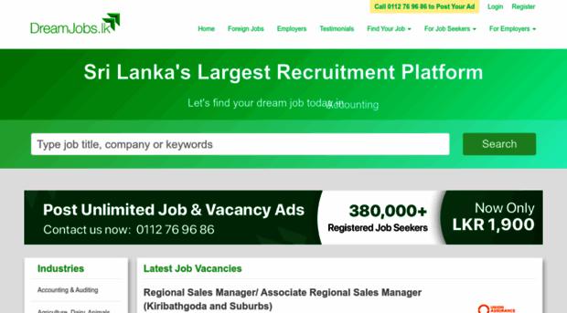 DreamJobs.lk increases Job Pool with Two Strategic Acquisitions | LankaTalks | Sri Lanka News