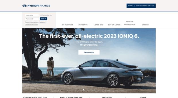 Hyundaimotorfinance Com Hyundai Motor Finance