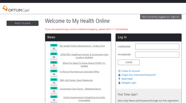My SMA Health Online