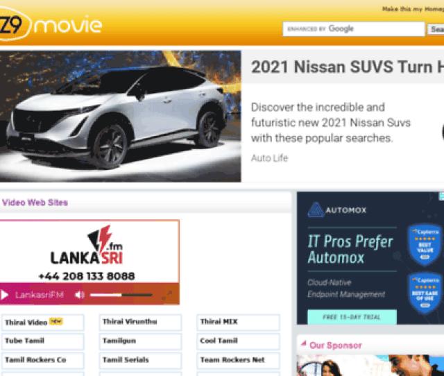 Tamil Video Movie Sites At Z9movie Com Lankasri