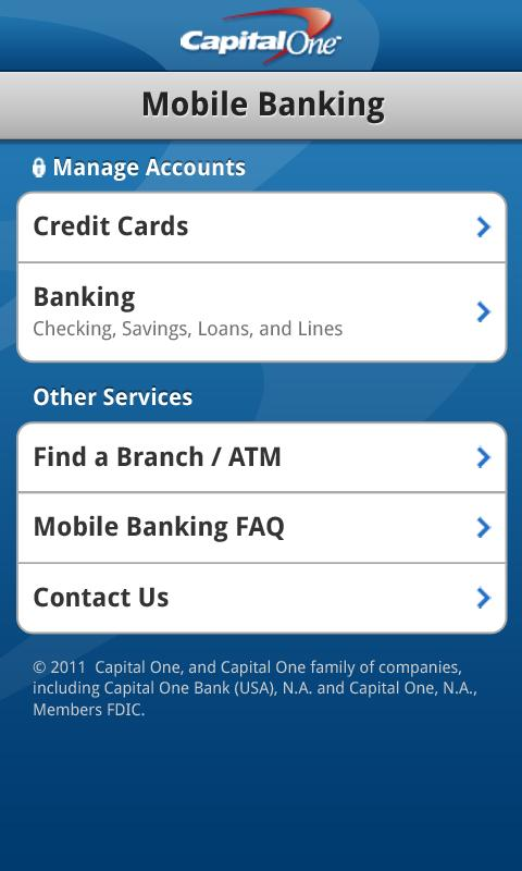 Capital One Credit Card Online Banking Login | Poemview.co