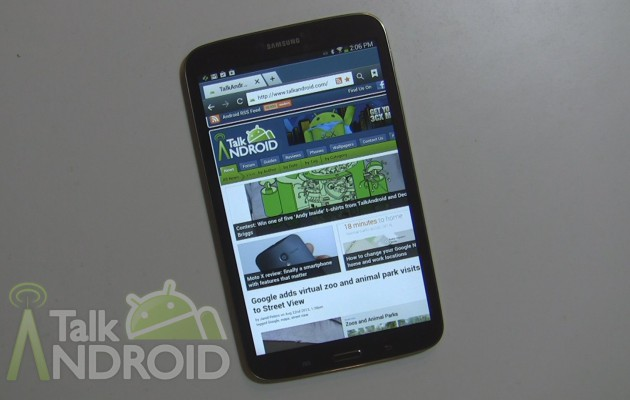 Samsung Galaxy Tab 3 8.0 quick review