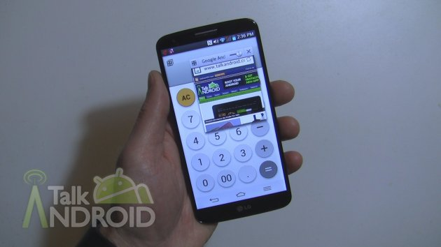 How To Multitask On The Lg G2 Using Qslide Apps Talkandroid Com