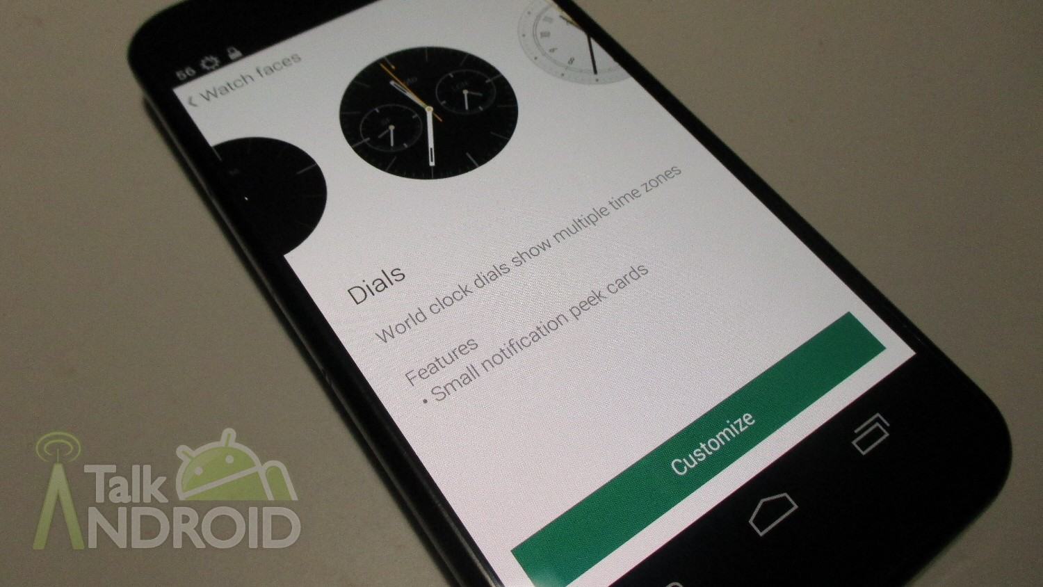 How To Use Motorola Connect To Customize The Pre Installed Motorola Watch Faces On The Moto 360 Talkandroid Com
