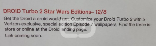 Droid Turbo 2 Rumored To Get Exclusive Star Wars Wallpapers Talkandroid Com