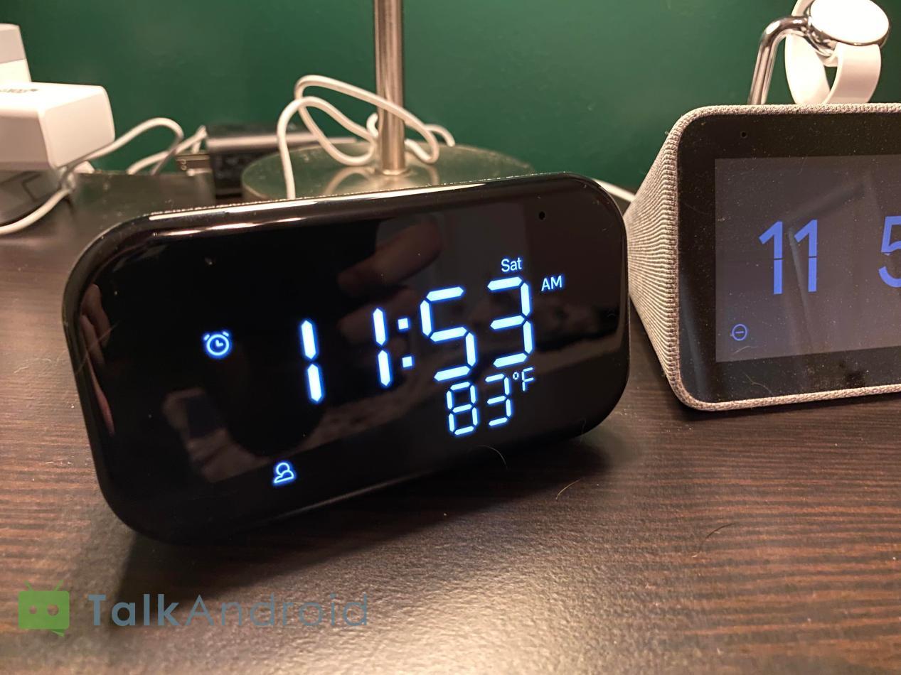 Lenovo Smart Clock Essential Review Mostly Clock With A Dash Of Smart Talkandroid Com