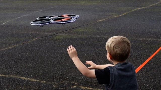 children-drone