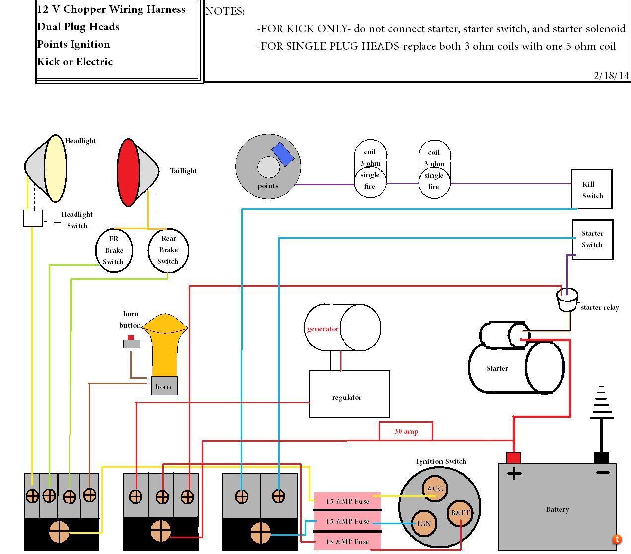 Basic Chopper Wiring,Chopper.Wiring Diagram Images Database on xt350 wiring diagram, xj550 wiring diagram, xj750 wiring diagram, chopper wiring diagram, yz426f wiring diagram, xs360 wiring diagram, xvz1300 wiring diagram, xvs650 wiring diagram, virago wiring diagram, xs400 wiring diagram, xv920 wiring diagram, xs850 wiring diagram, cb750 wiring diagram, xv535 wiring diagram, xs1100 wiring diagram, xj650 wiring diagram, fj1100 wiring diagram, it 250 wiring diagram, fz700 wiring diagram, yamaha wiring diagram,