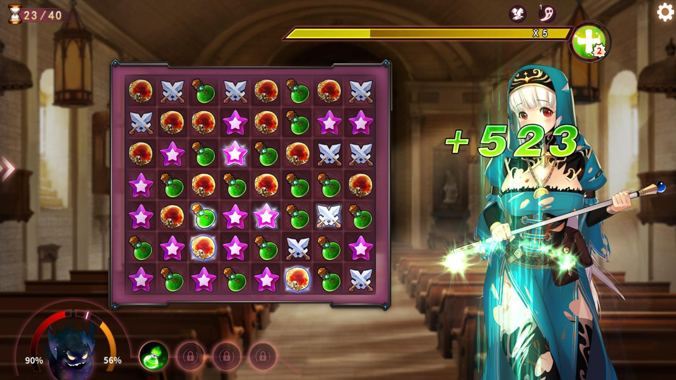 mirror special tile matching game