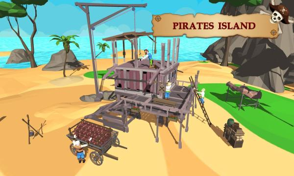 pirate ship battle game # 52