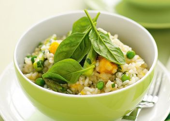 Fresh Recipe Microwave vegetable risotto