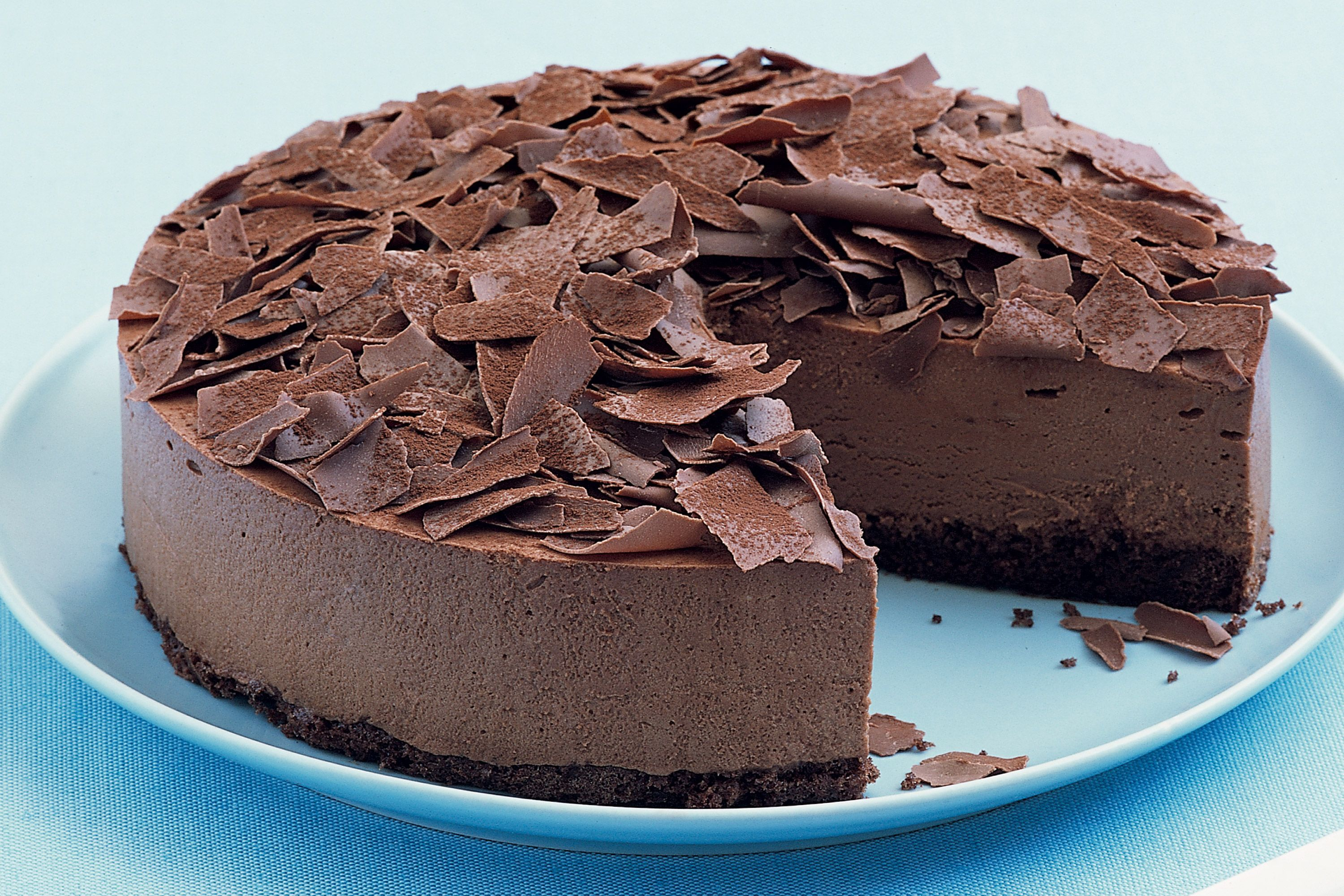 Triple Chocolate Brownie Mousse Cake