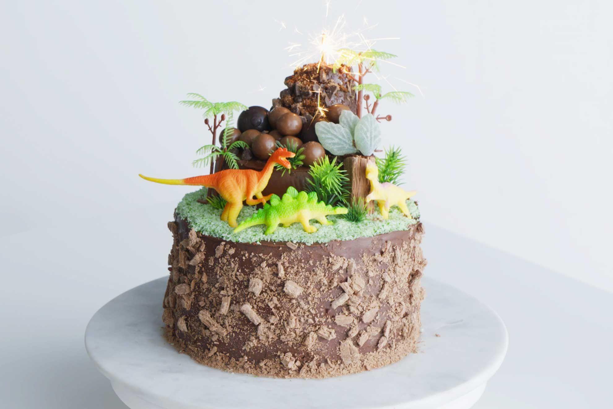 Dinosaur Cake Recipe