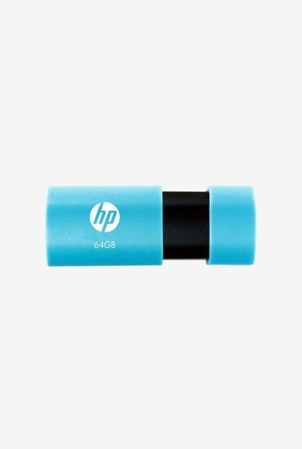 HP V152W 64 GB USB 2.0 Flash Drive (Blue)