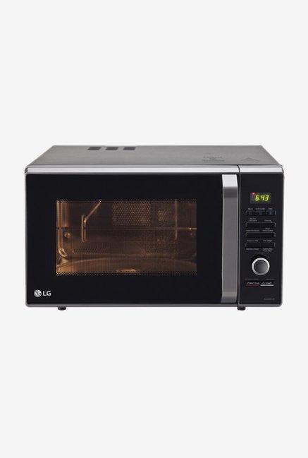 lg mj2886bfum 28l convection microwave oven black