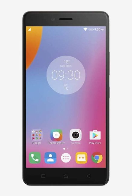 Lenovo K6 Note 4G Dual Sim 32GB ROM with 4GB RAM (Dark Grey)