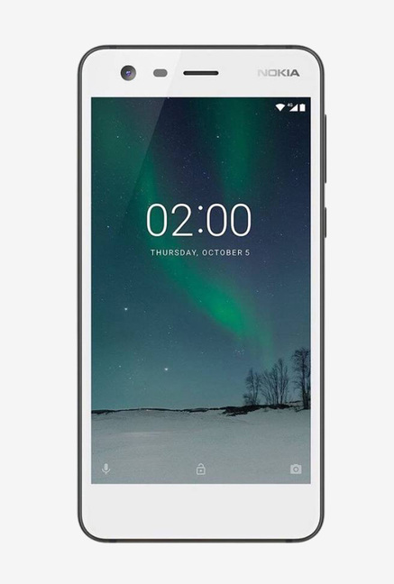Nokia 2 8GB (Pewter / White) 1 GB RAM, Dual SIM 4G