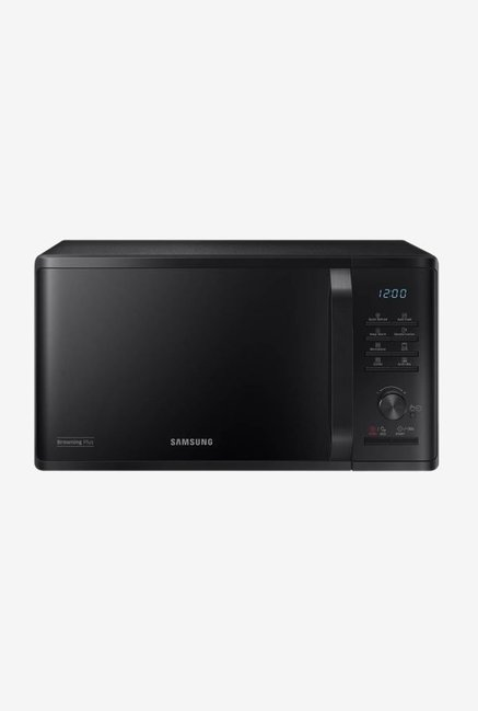 samsung mg23k3515ak tl 23l grill microwave oven black