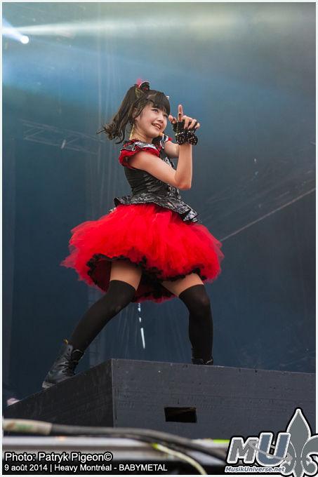 BABYMETAL, Concert, Mizuno Yui