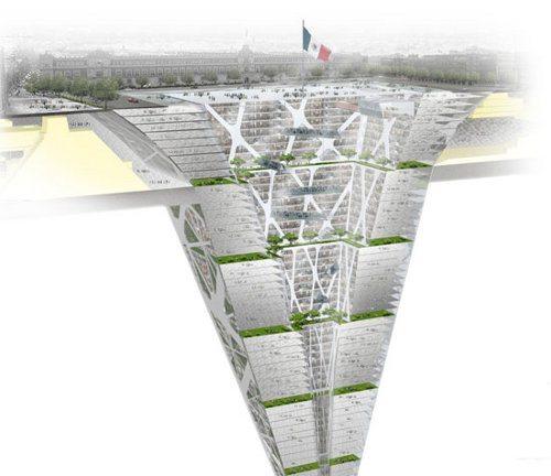Earthscraper, un rascacielos subterráneo de 300 metros
