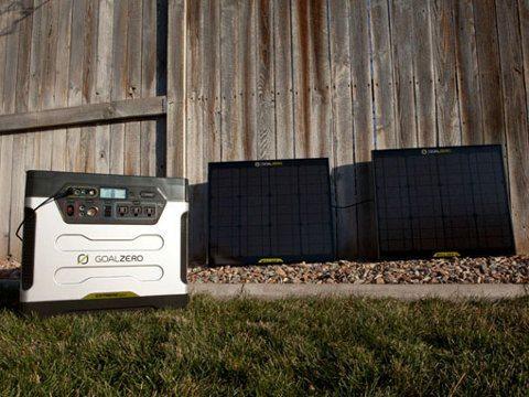 Goal Zero Yeti 1250, un genial generador solar