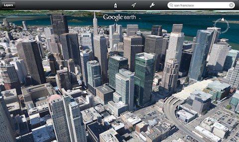 Google Earth ahora en 3D y para iOS 5