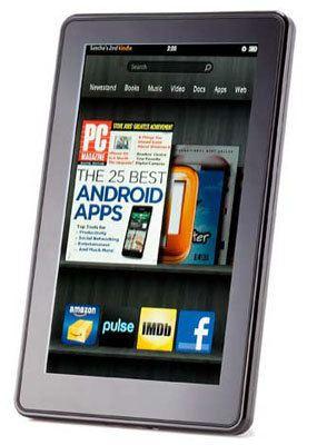 Kindle Fire 2 sería lanzado en agosto