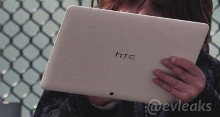 Fotografías filtradas del tablet de 10 pulgadas de HTC