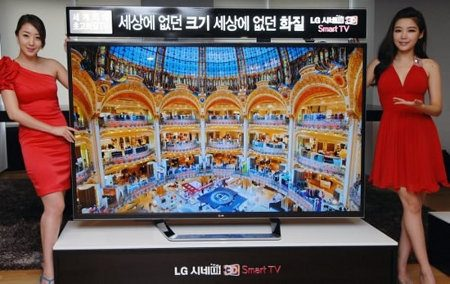 LG lanza su Ultra HD Smart TV de 84 pulgadas