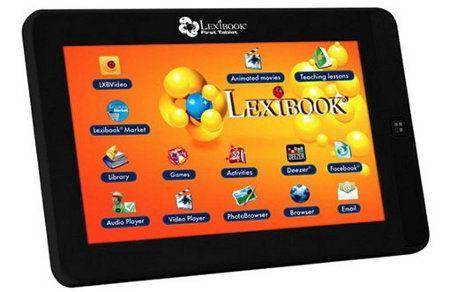 Lexibook lanza un tablet Android de gama baja para niños