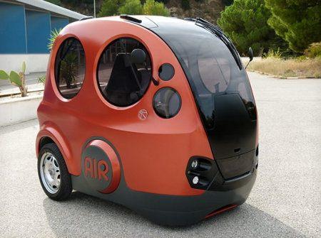 Tata Airpod, el auto que solamente usa aire para funcionar