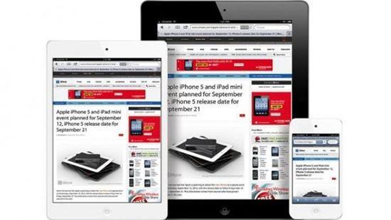 iPad Mini sería como un iPod Touch de 7 pulgadas