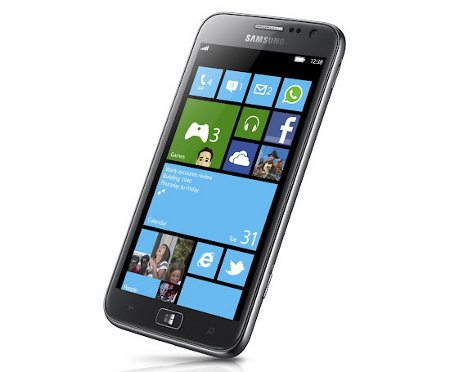 Samsung ATIV S, el primer smartphone Windows Phone 8