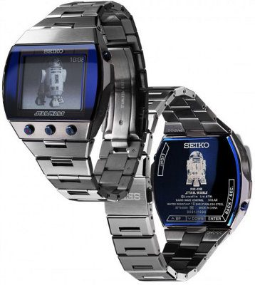 Seiko Brightz R2-D2, un reloj inspirado en Star Wars