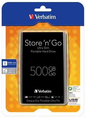 Verbatim Store 'n' Go Ultra Slim, un disco duro ultradelgado y USB 3.0