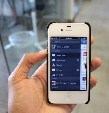 Facebook ha actualizado su app para iOS