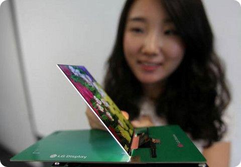 LG presenta su nueva pantalla ultradelgada de 5,2 pulgadas