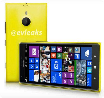 Nueva imagen del Lumia 1520