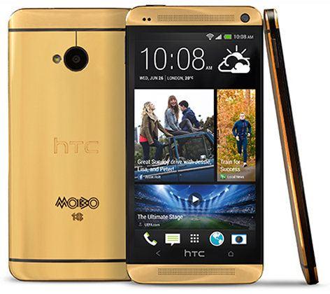 El HTC One recibe una cubierta de oro y eleva su precio hasta los $4.400 dólares