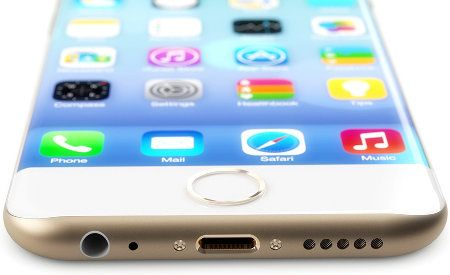 El iPhone 6 tendrá una pantalla curva