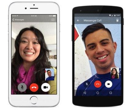 Facebook añade videollamadas en Messenger