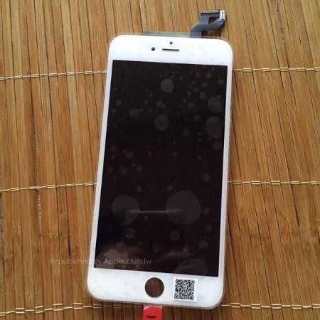 iPhone 6s Plus: este es el panel frontal