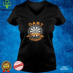 Dart legend dartboard with darts T Shirt