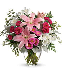Summer Flowers and Plants  Summer Bouquets   Teleflora Quick view Blush Rush Bouquet Bouquet